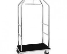 Metalcarrelli Birdcage Luggage Cart