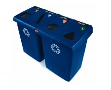 Rubbermaid Glutton®  Recycling Station