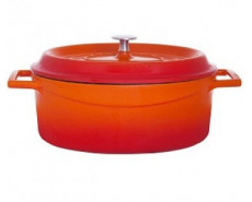 Agnelli Slowcook Enamelled Cast Iron O