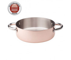 Agnelli Copper3 Casserole Pot